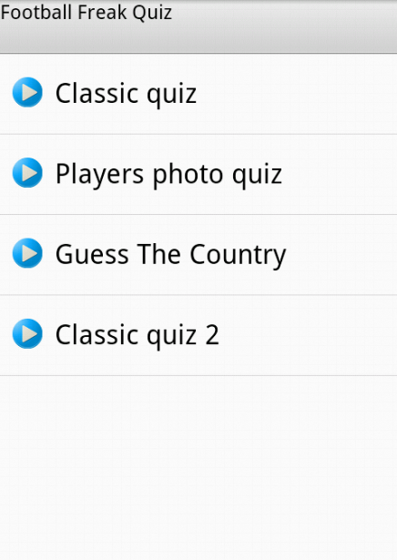 Football Quiz for Freak - screenshot