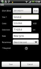 FuelLog - Car Management Screenshot 6