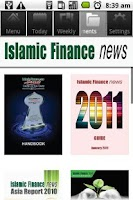 Screenshot of Islamic Finance News