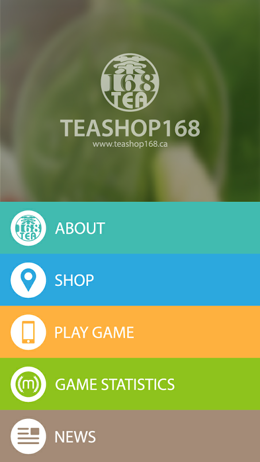 Tea Shop 168- screenshot