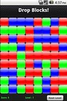 Screenshot of Drop Blocks Free