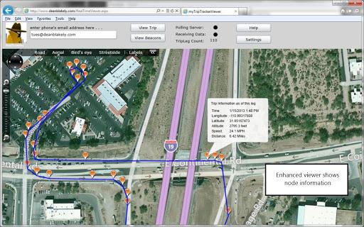 GPS Breadcrumb Tracker Trial