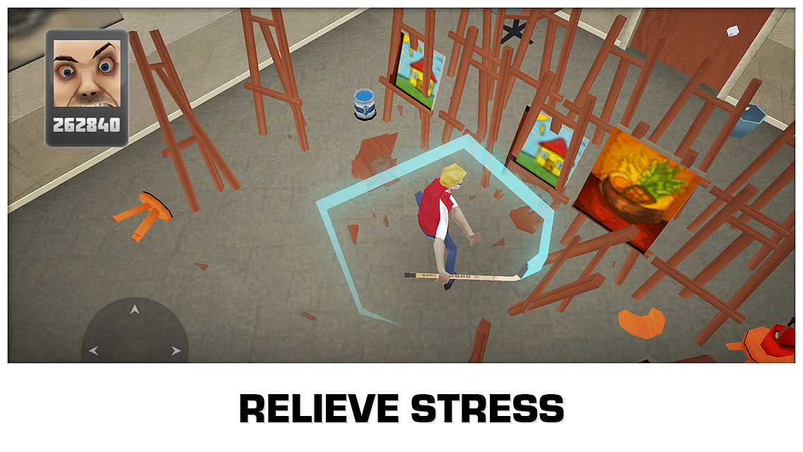 Smash the School - Stress Fix! - screenshot