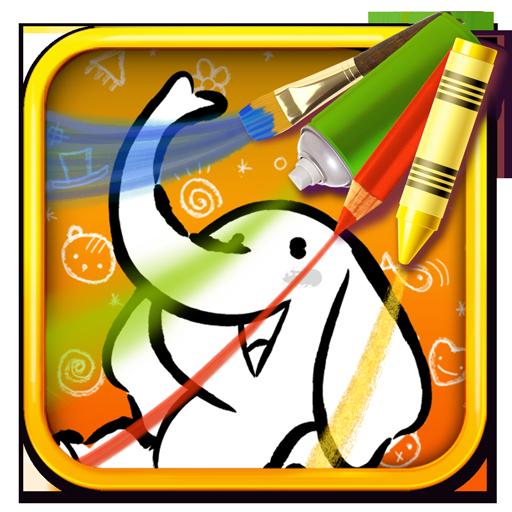 Color & Draw for kids LOGO-APP點子