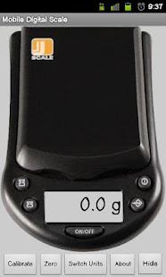 Mobile Digital Scale - screenshot thumbnail