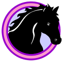 Lovely horses icon