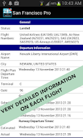Screenshot of Dubai Airport DXB Pro