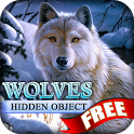Hidden Object - Wolves Free icon