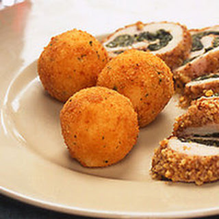 Garlic Mashed Potato Croquettes