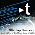 Trispur Music 80's Top Dances logo