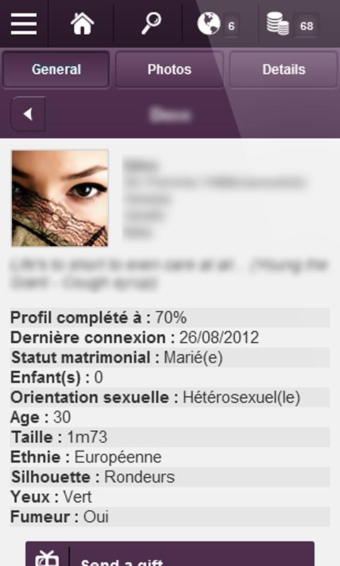 Gleeden - screenshot
