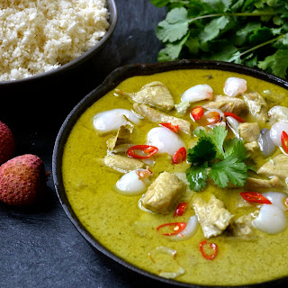 Chicken & Lychee Green Curry