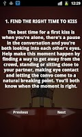 Screenshot of A Guide to Kiss Your Partner