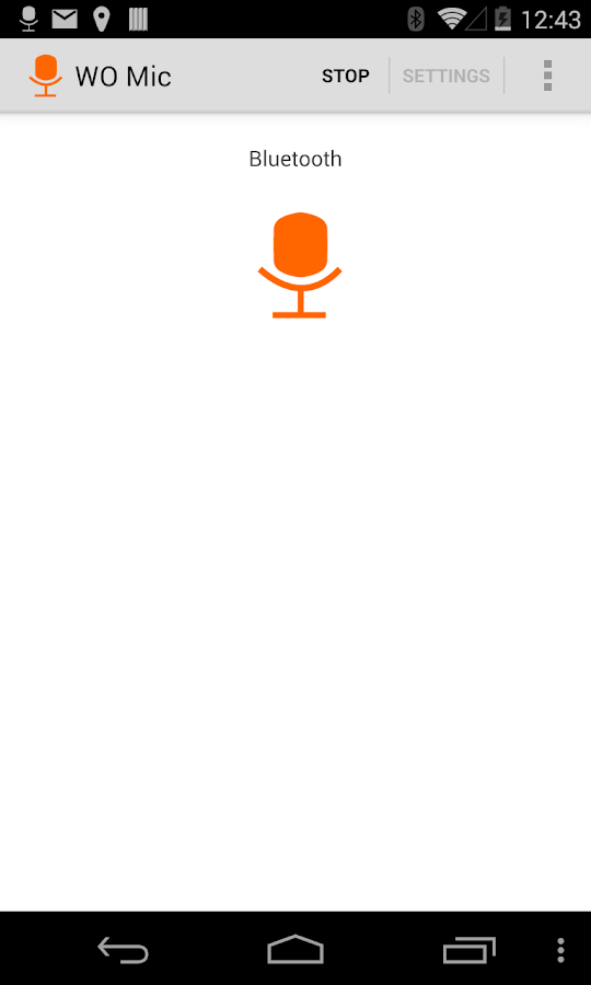 WO Mic - FREE microphone- screenshot