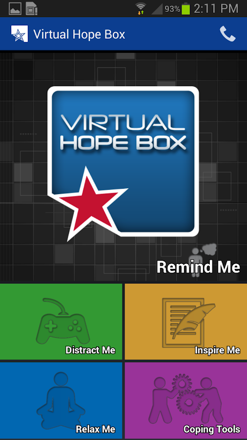 Virtual Hope Box- screenshot