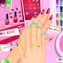 Fashion Nail Style Manicure icon