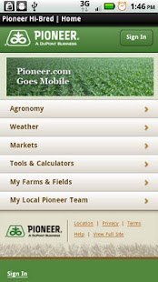 Mobile Pioneer.com - screenshot thumbnail