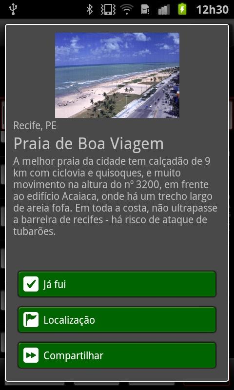 1001 Lugares no Brasil para co - screenshot