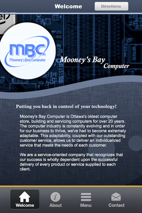 Mooney's Bay Computer - MBC - screenshot