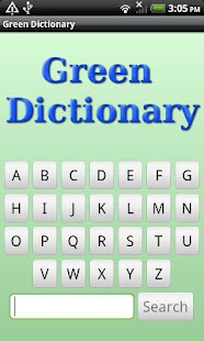 Eco & Green Dictionary - screenshot thumbnail