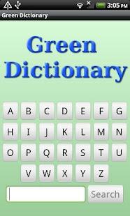 Eco & Green Dictionary- screenshot thumbnail