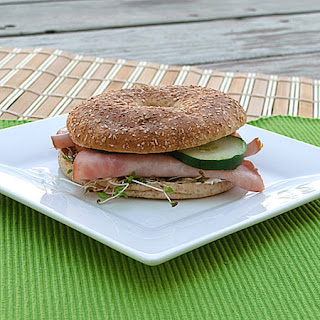 Healthy Bagel Sandwiches