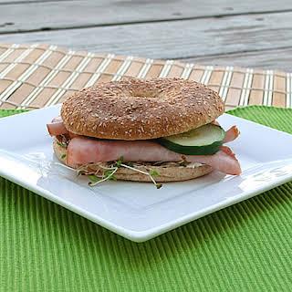 Healthy Bagel Sandwiches.