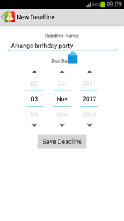 Deadlines Reminder - screenshot thumbnail