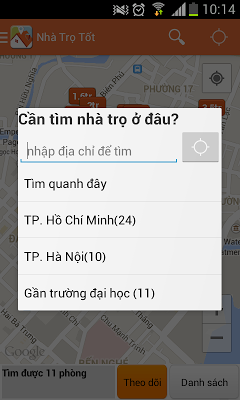 Nhà Trọ Tốt - thue nha tro tot - screenshot