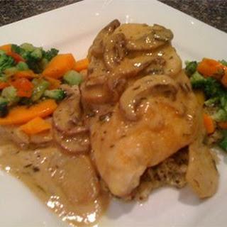 Chicken Calvados