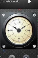 Screenshot of AVIATOR - retro clock