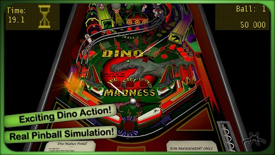 Dino Madness Pinball Lite- screenshot thumbnail