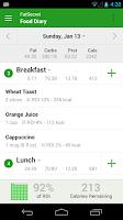 Screenshot of Calorie Counter by FatSecret