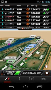 F1™ 2013 Timing App - Premium - screenshot thumbnail