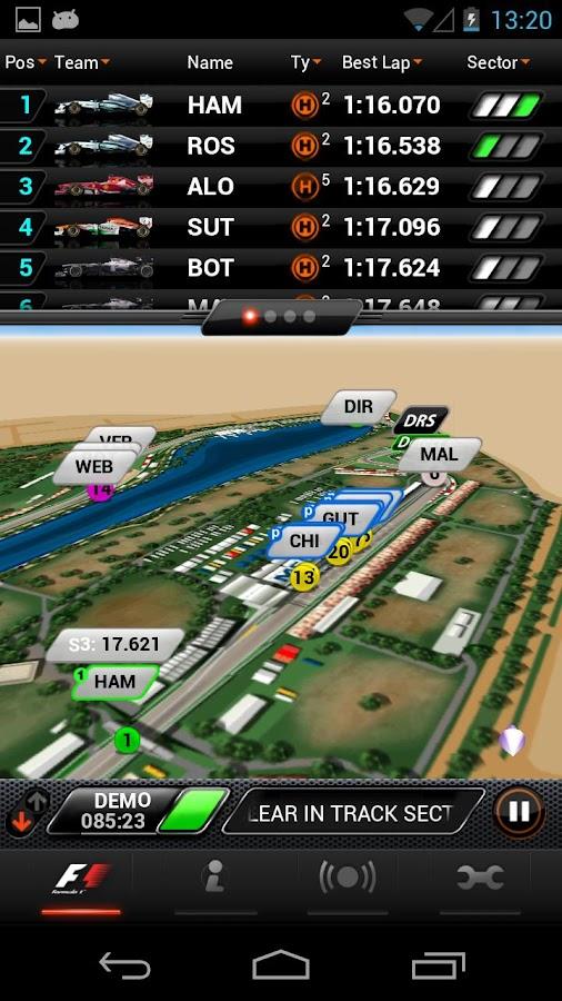 F1™ 2013 Timing App – Premium v5.183 Apk Full App