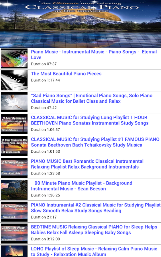 Piano Classical Music - screenshot