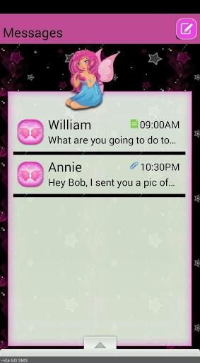 StarFairy GO SMS THEME