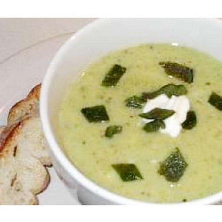 Poblano Chile Pepper Soup Recipe