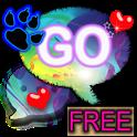 GO SMS Theme Rainbow Leopard 2 icon