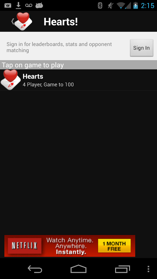 Hearts!- screenshot