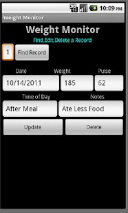 Weight Monitor - screenshot thumbnail