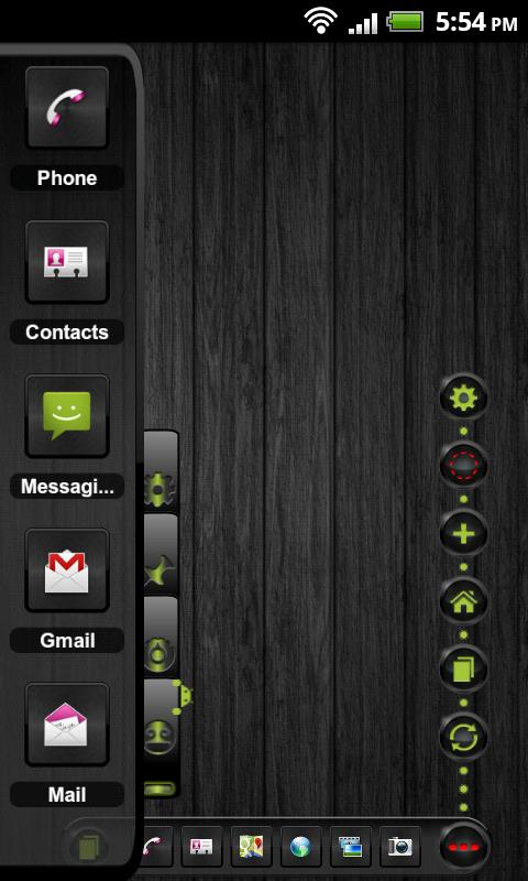 TSF Shell Theme Andy HD- screenshot
