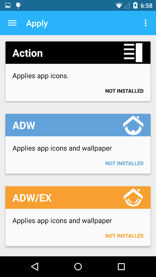 Flatro - Icon Pack - screenshot