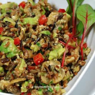 Wild Rice Salad.