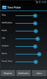 Tone Picker - MP3 Ringtones- screenshot thumbnail