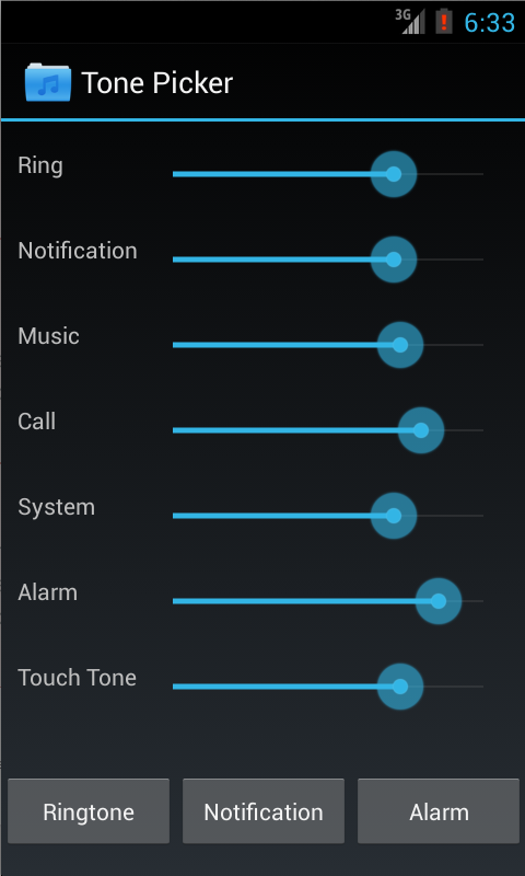 Tone Picker - MP3 Ringtones- screenshot
