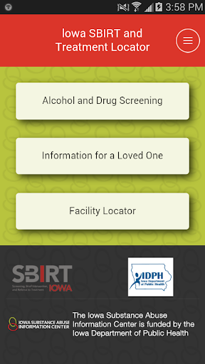 SBIRT IOWA Treatment Locator