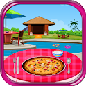 italien jeux de fille de pizza icon