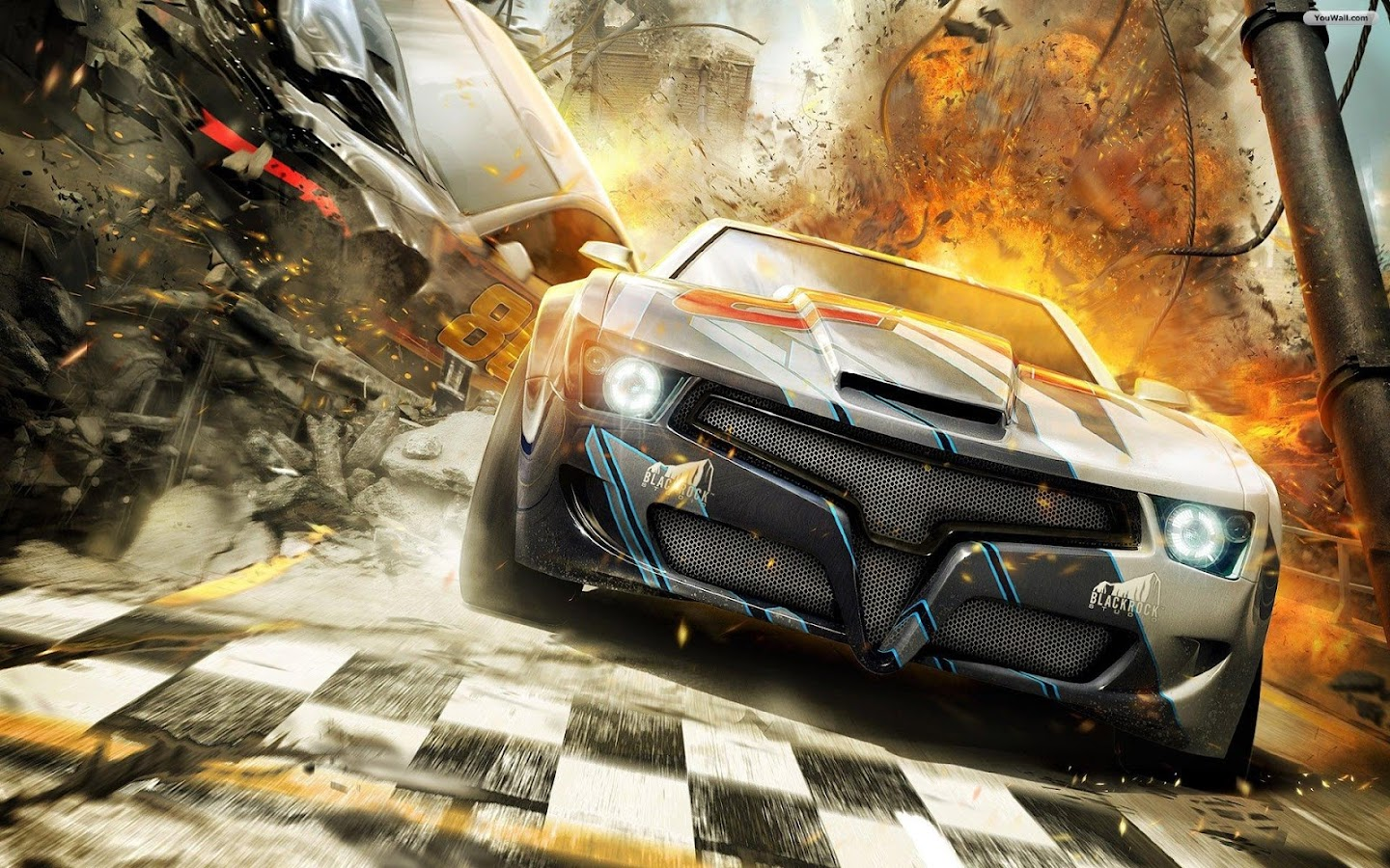3d racing car wallpaper screenshot - Cool Cars Wallpapers 3d
