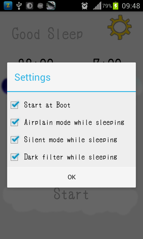 Good Sleep(intelligent filter)- screenshot